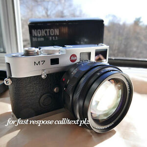 Leica M7 with Zeiss 50 f2 Or Nokton 50 1.1 Min Box & Papers