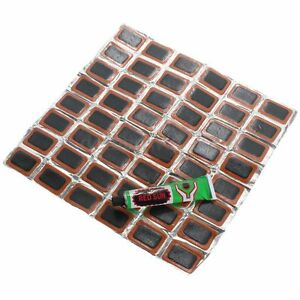 48pcs-Motor-Bicycle-Bike-Tyre-Tire-Inner-Tube-Puncture-Rubber-Patches-Repair-Kit