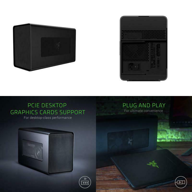 Razer Core X Aluminum External Gpu Enclosure : Compatible W/
