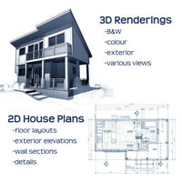 House Plans / Drafting  & 3D Designs