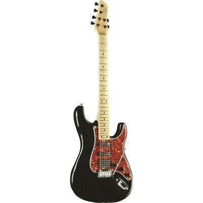Guitarra Eléctrica Eko Aire Lite Negro