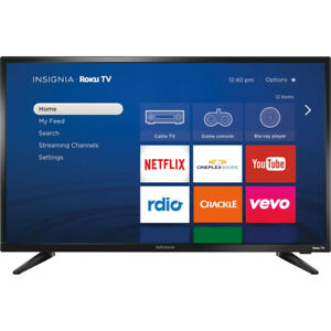 Insignia 24'' LED SMART HDTV w/ROKU - NEW IN BOX