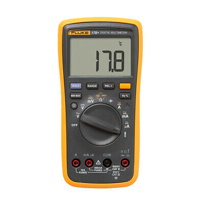 Fluke 17b Digital Multimeter Meter Tester Dmm With Tl75 Test Leads F17b
