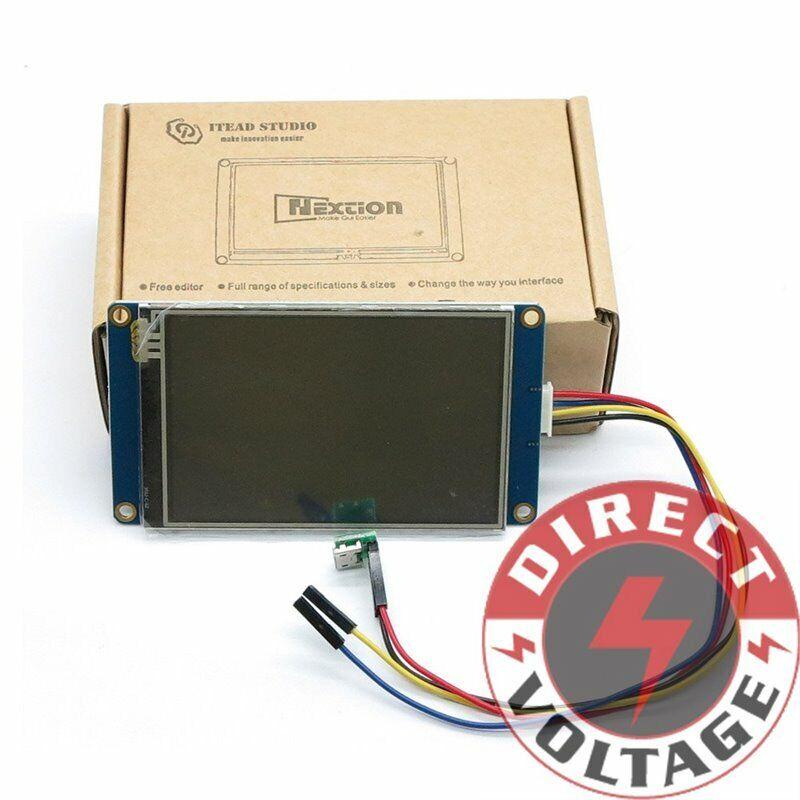 "Nextion NX4832T035 - Generic 3.5"" HMI LCD Touch Display16MB Flash"