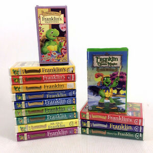 14 Franklin The Turtle VHS Movies Cartoons Episodes Bourgeois