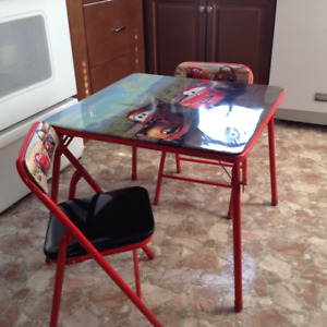 CHILDS TABLE & CHAIR SET