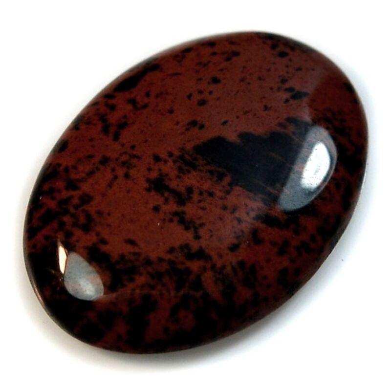 Natural Mahogany Obsidian Cabochon Collection