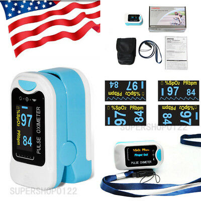 Hot Sales Oled Fingertip Oxymeter Spo2pr Monitor Blood Oxygen Pulse Oximeter