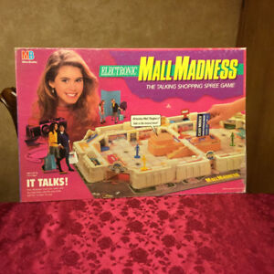 Mall Madness Electronic Board Game