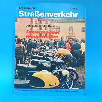 Der Deutsche Straßenverkehr 3/1980 Trabant 601 Citroen GS Motorroller Tuliza G
