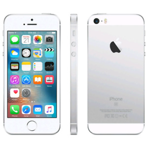 IPHONE SE 16GB SILVER/WHITE/ARGENT/BLANC/CELL/PHONE/MOBILE  In g