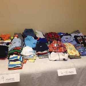 Boys 9- 12 months clothing- great condition!