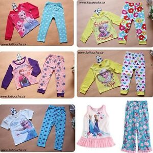 Snow Queen Elsa,Princess Anna,Olaf,Kristoff,Sven Pyjamas,Gown