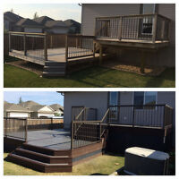 10% OFF FENCES, DECKS & GARAGES BOOKED IN JULY