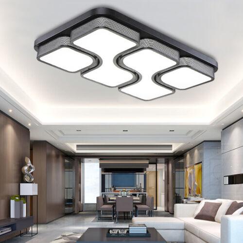 64W Lampadario LED luce da soffitto Plafoniera Soggiorno Camera da letto Bagno