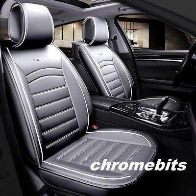 Per Kia Sportage Toyota Yaris Deluxe Premium Grigio Pelle Coprisedili