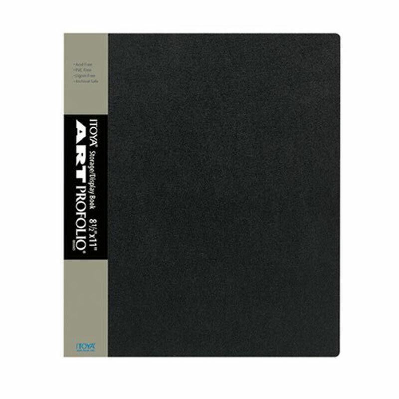 Itoya IA-12-8 Art Profolio Presentation 8.5 x 11 Display Book Album 24 Pages