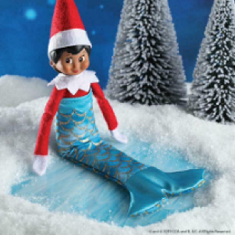 NEW 2019 Elf On The Shelf Claus Couture Scout Elf Merry Merry Mermaid CCMERMAID