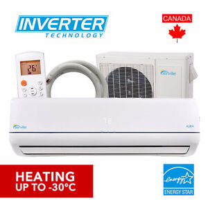 2017 Brand-New Mini Split Heat Pumps -30 °C