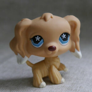 LPS COLLECTION LITTLEST PET SHOP Blue Eyes Cocker DOG RARE TOY 2