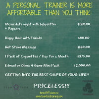 Personal training - More Affordable Than You Think!