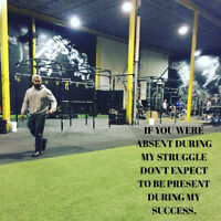 Looking for a dedicated trainer? Call or text 514-867-2291!