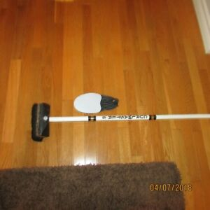 Curling Broom and Slider
