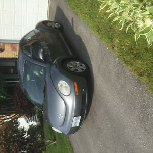 2007 Volkswagen Beetle Black Coupe (2 door)