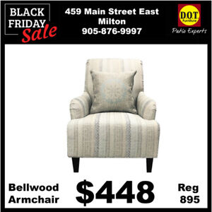ALL INDOOR ACCENT CHAIRS 50% OFF 3 DAYS ONLY!