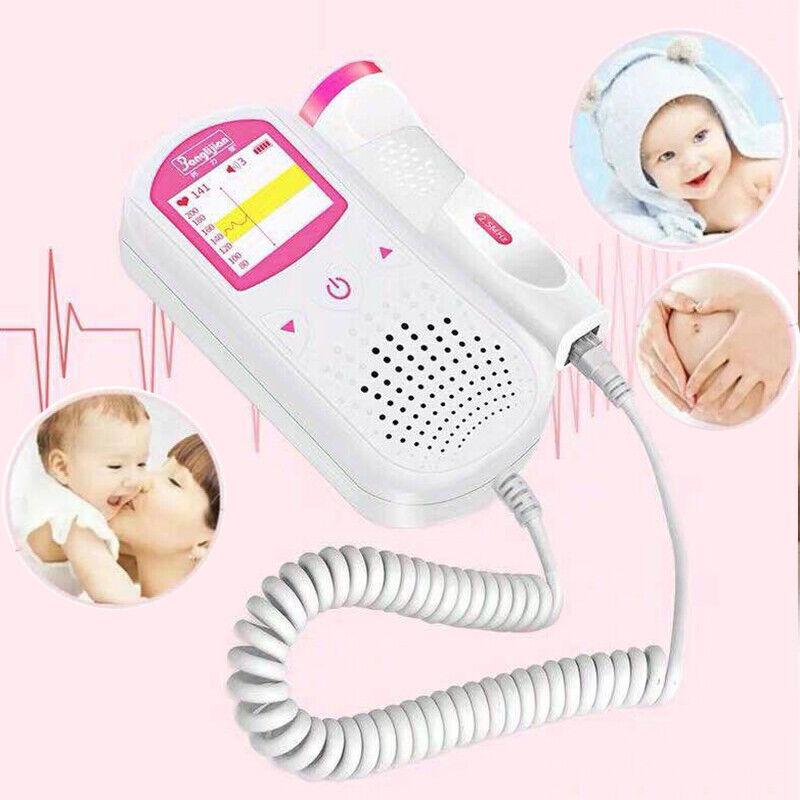 Baby Fetal Doppler Built-in 2.5MHz Probe