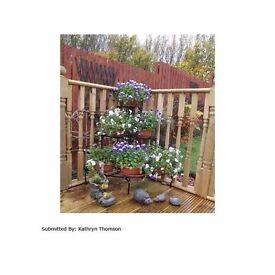Corner Plant Pot Stand