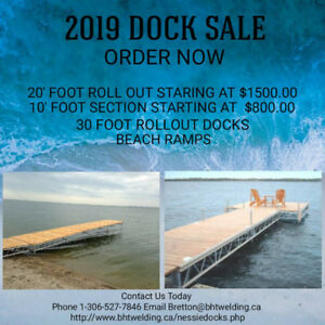 DOCK SALE ORDER NOW