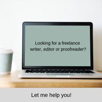 Freelance Copy editing/Copywriting/Proofreading Services