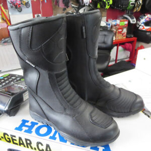 Youth Oxford Cruiser or Sport Leather Motorcycle Boots Size 4