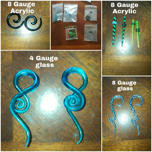 4&8 gauge jewelry&tapers