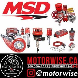 5% OFF MSD Ignition Performance Products | Shop & Order Online at www.motorwise.ca | Free Shipping Canada Wide