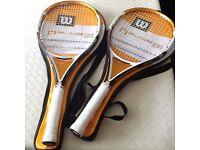 2x Wilson n-blade size 26 (junior)