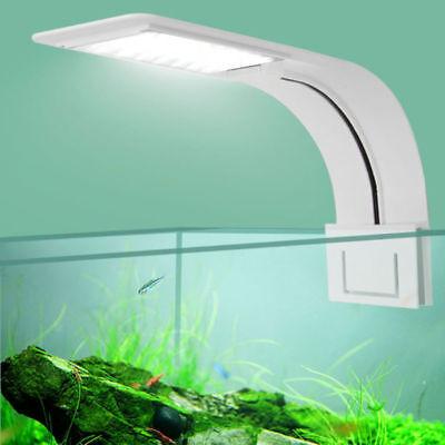 10W LED Aquarium Licht Pflanzen wachsen Beleuchtung Clip-on-Lampe Super Slim DE ()