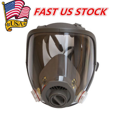 New Dust Gas Mask Of 3m 6800 Full Face Facepiece Respirator Painting Spraying Us
