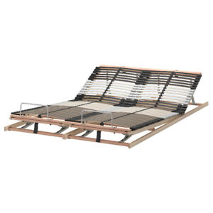 IKEA LEIRSUND bed slats, sommier à lattes. Queen sized