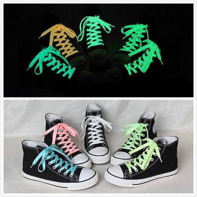 LED Flash Luminous Light Up Glow Strap Shoelace Shoe Laces Party Disco Props Hot](Light Up Shoelace)