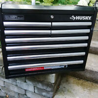 Tool Cabinet box HUSKY Heavy Duty Ball Bearing  Cofffre Outiles