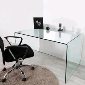 LUXURY GLASS DESK TABLE