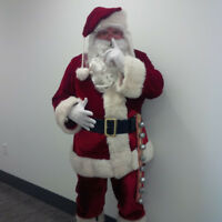 Santa Claus for Hire!