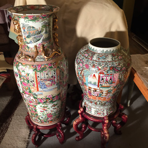 Chinese Ceramic Vases