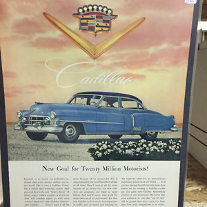VINTAGE AUTOMOBILE ADVERTISMENTS