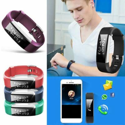 Neu Sport Fitness Tracker Smart Uhr Herzfrequenzmesser für Ios IPHONE Samsung