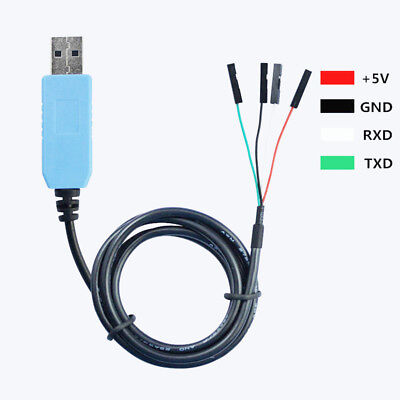 Pl2303ta Usb To Ttl Rs232 Serial Adapter Cable For Arduino Win Xpvista788.1