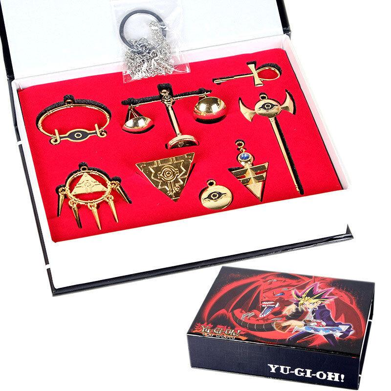 925 Sterling Silver Millennium Wheel Wisdom Logo Necklace Onecos Yu-Gi-Oh