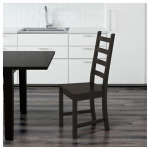 IKEA STORNÄS dining table and 4 KAUSTBY matching chairs